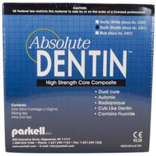 Absolute Dentin™ Core Composite - 50 ml Split Cartridge with Mixing and Intraoral Tips
