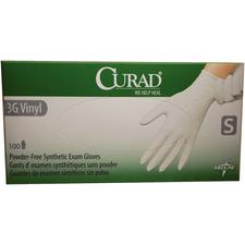 CURAD® 3G Vinyl Powder-Free Synthetic Exam Gloves