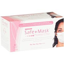 Safe+Mask® Premier Elite - Earloop Mask, 50/Box