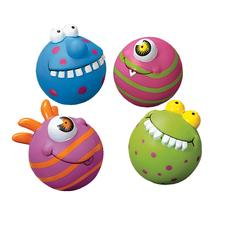 "Large Monster Squirt Toys, Assorted Colors, 3"" D, 12/Pkg"