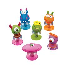 Monster Pop-Up Toy, Assorted, 2&#34;, 12/Pkg