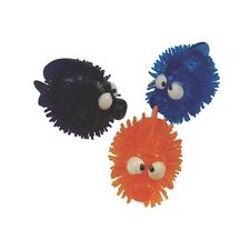 Vinyl Porcupine Fish Squirts, Assorted Colors, 2-3/4&#34;, 12/Pkg