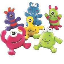 "Plush Monsters, Assorted, 4"", 12/Pkg"