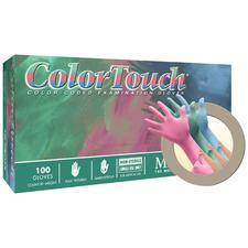 ColorTouch® Powdered Latex Glove Sample