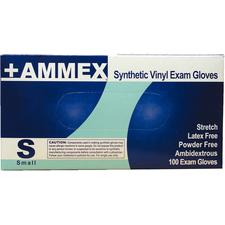 +AMMEX Powder-Free, Stretch Vinyl Gloves