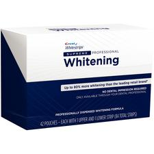 Crest® Whitestrips Supreme Professional - 1 Upper And 1 Lower Strip Per Pouch, 42 Pouches/box - Crest Whitestrips Supreme Professional
