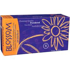 Blossom® Powdered Latex Gloves, 100/Box