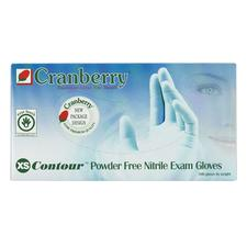 Contour™ Powder-Free Nitrile Exam Gloves - Latex Free, 100/Box