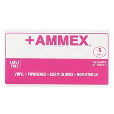 +AMMEX Powdered Vinyl Gloves