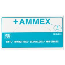 +AMMEX Powder-Free Vinyl Gloves