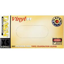 Vinyl PF Latex-Free Gloves, 100/Box