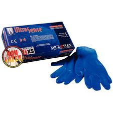 UltraSense® Nitrile Gloves - Blue, Powder Free, Latex Free, 100/Box, 10 Boxes/Case