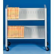 "Datum Filing/Utility Shelf FileCart™ and Two Filing Shelves FileCart™, 35"" W x 33-5/8"" H x 16"" D"