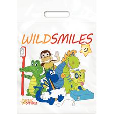 "Wild Smile Supply Bag, 9"" W x 12"" H, 250/Pkg"