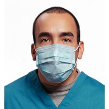Breathe E-Z Pleated Ear Loop Mask