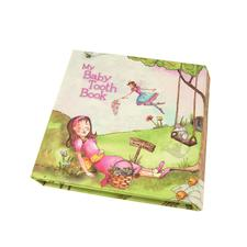"Baby Tooth Flapbook, 6"" W x 6-1/8"" H x 7/8"" D"