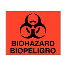 Spanish Biohazardous Labels