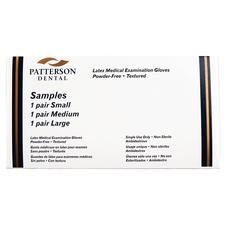 Patterson Powder-Free Latex Examination Gloves Sample