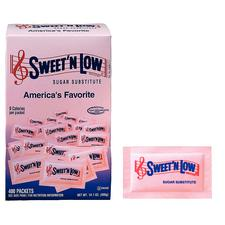 Sweet 'N Low, 1 g Packets, 400 Packets/Box