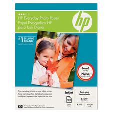 "Hewlett-Packard Everyday Photo Paper, 8-1/2"" x 11"", 100/Pkg"