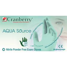 Aqua Source™ Nitrile Powder Free Exam Gloves - Medium