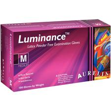 Aurelia® Luminance™ Latex Powder-Free Exam Gloves - 100/Box