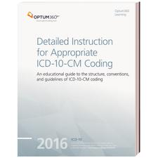 "2014 Ingenix Detailed Instruction for Appropriate ICD-10-CM Coding, 8-1/2"" W x 11"" H"