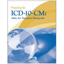 "Preparing For ICD-10-CM – AMA®, 8-1/2"" W x 11"" H"
