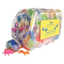 Sticky Mix Canister, Assorted, 300 pieces/canister