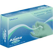 Alasta™ Aloe Soft-Fit™ Nitrile Exam Gloves - Powder Free, 100/Box