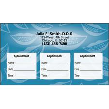 Orthodontic Sticker Appointment Card, 500/Pkg