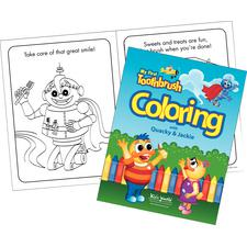 Quacky & Jackie Coloring Book, 8-1/2&#34; W x 11&#34; H, 25/Pkg