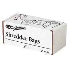 Swingline Clear Poly Shred Bags
