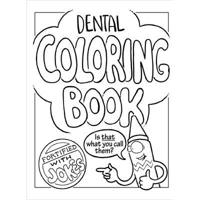 Dental Coloring Book , 8-1/2\