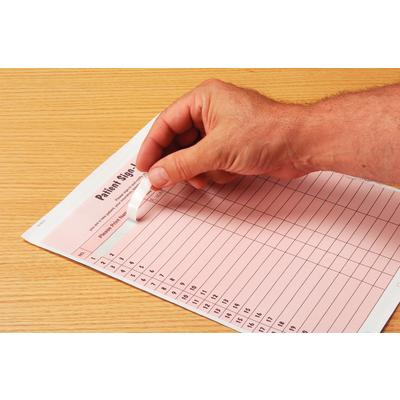 Privacy Sign-In Sheet with Peel-Off Labels, 2-part carbon ...