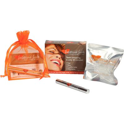 Sinsational Smile Teeth Whitening System Replacement Kit – 25% Carbamide Peroxide, 12/Pkg