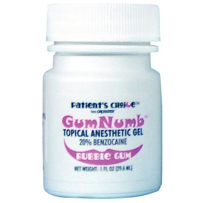 Gumnumb Topical Anesthetic Gel With 20 Benzocaine 1 Oz