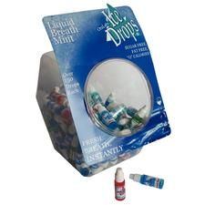 Liquid Breath Mint Assortment, 100/Pkg
