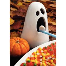 Halloween 4-Up Laser Postcards, 100/Pkg