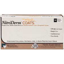 NitriDerm® COATS® Powder Free Nitrile Exam Gloves