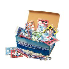 Quality Dental-Themed Toy Box, 100 Pieces/Box