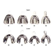 Patterson® Metal Impression Trays, Solid Edentulous