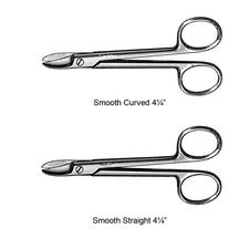 "Vantage Collar and Crown Scissors – 4-1/4"", Smooth"