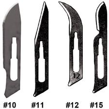 Carbon Surgical Blades, Handles and Scalpels