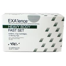 EXA'lence™ VPES Impression Material – 48 ml Cartridge, Refill with Tips, 4/Pkg