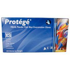 Gants d'examen Protege™ Stretch en nitrile – Très petit, non poudrés, bleus, 100/emballage