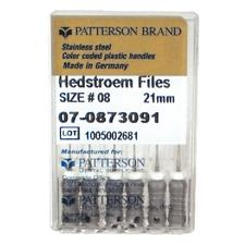 Patterson® Hedstrom Files – 21 mm, 0.02 Taper, 6/Pkg