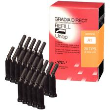 Gradia® Direct Resin Composite, 0.16 ml Unitip Refill
