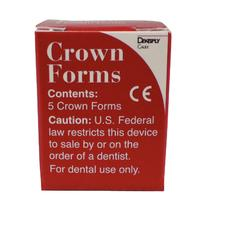 Crown Form Refill – Clear, Celluloid, 5/Pkg