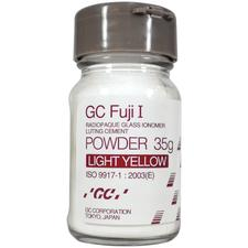 GC Fuji I® Glass Ionomer Luting Cement – Powder Refill, 35 g Bottle
